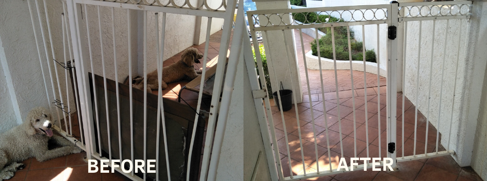 fix pool gate